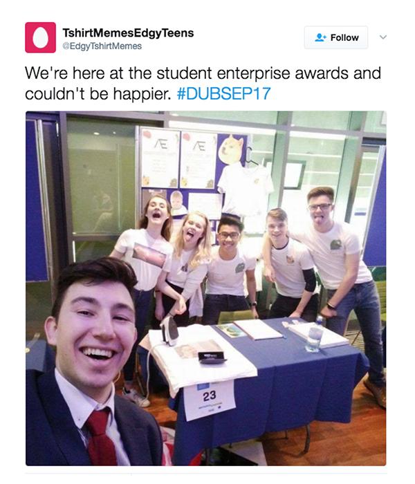 Student enterprise awards business report